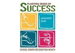school board recognition clipart: Planting Seeds of Success with graphics of seeds
