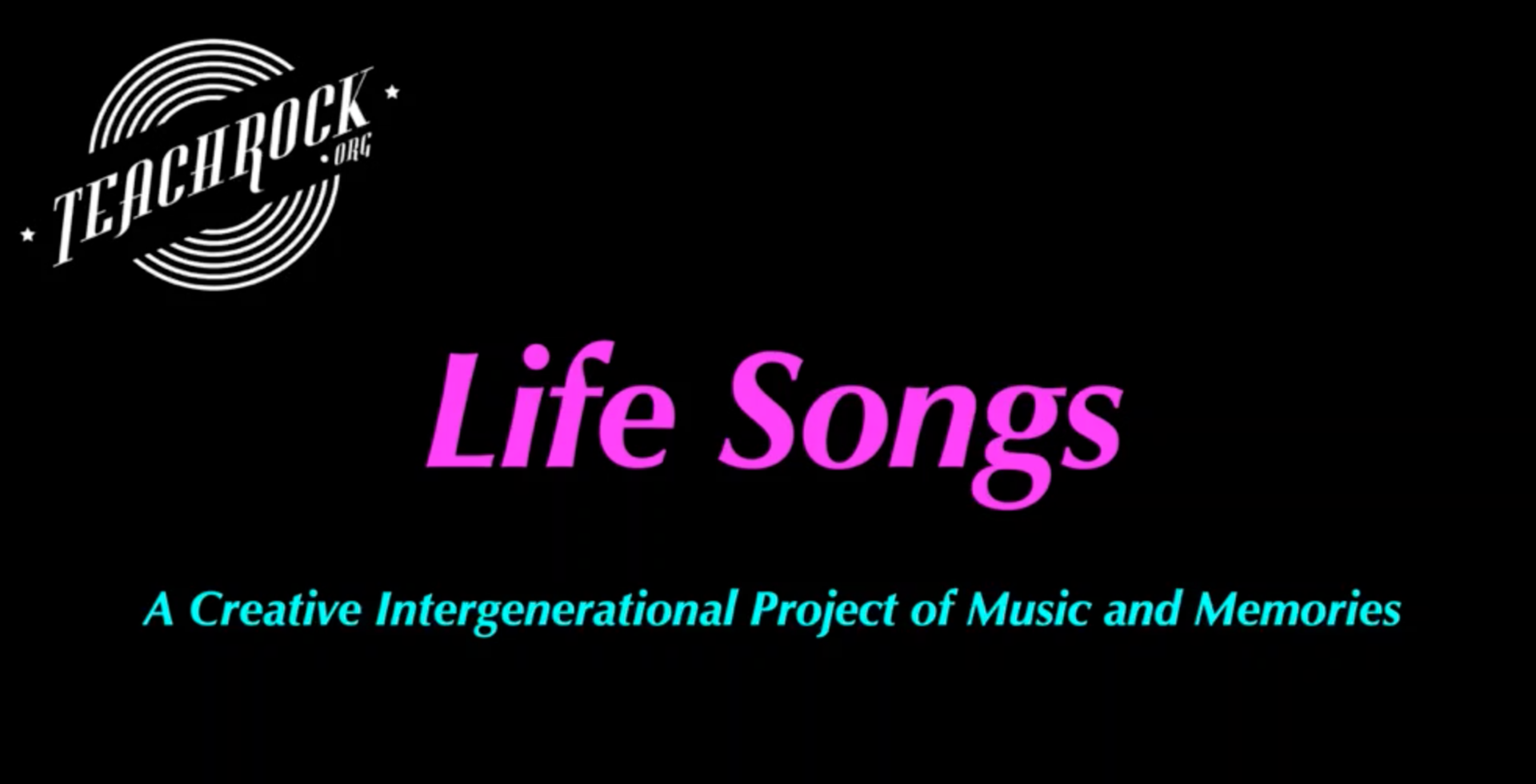 Life Songs Project