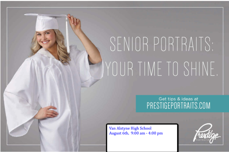 Senior Cap and Gown Pictures! Thumbnail Image
