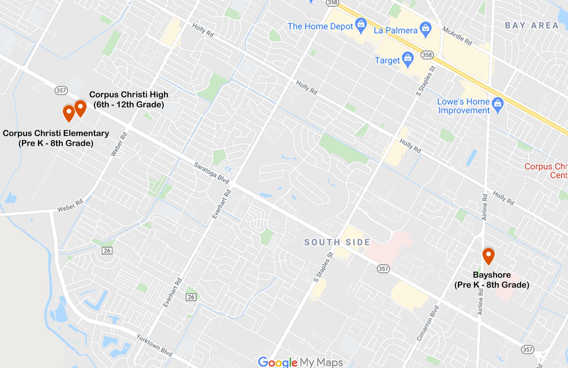 SST Schools in Corpus Christi Area