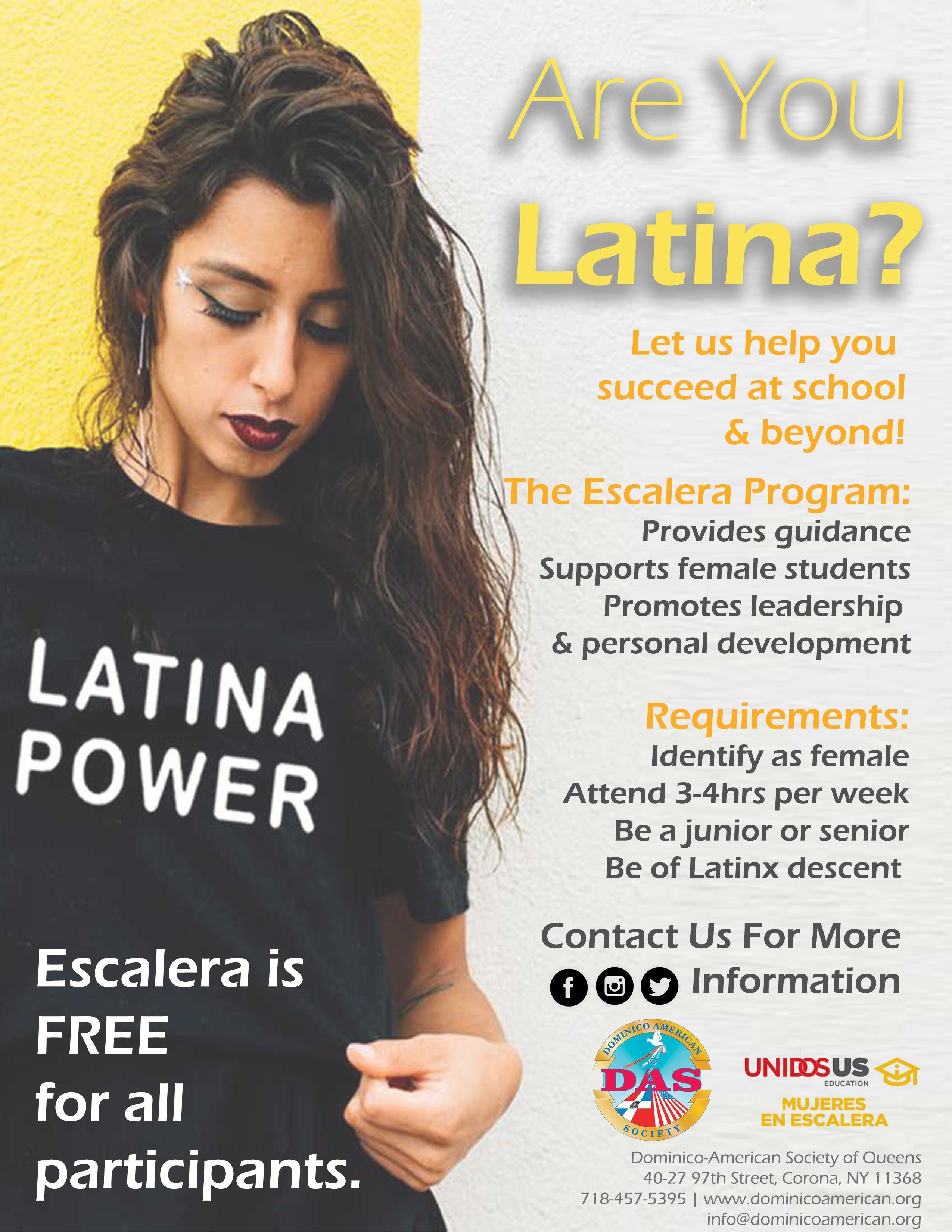 Latina Power Flyer