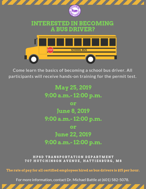 INTERESTED IN BECOMING  A BUS DRIVER? Featured Photo