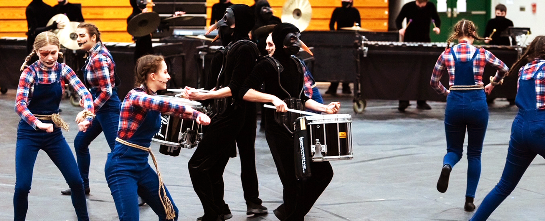 Indoor Percussion State Champions