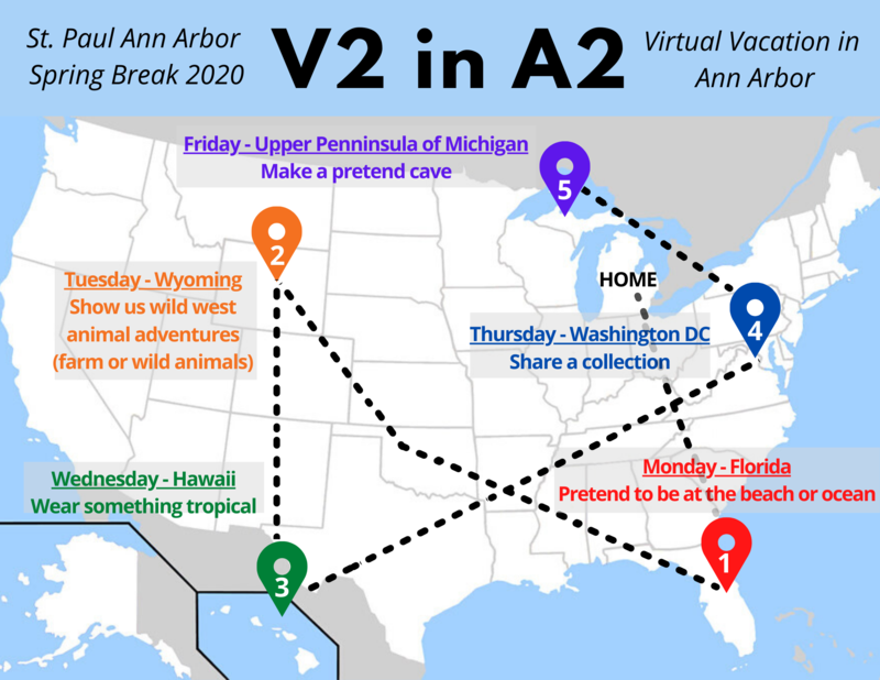 V2 in A2 Virtual Vacation in Ann Arbor March 30 - April 3 Thumbnail Image