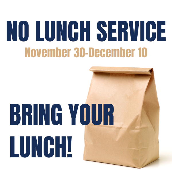 lunch service suspended