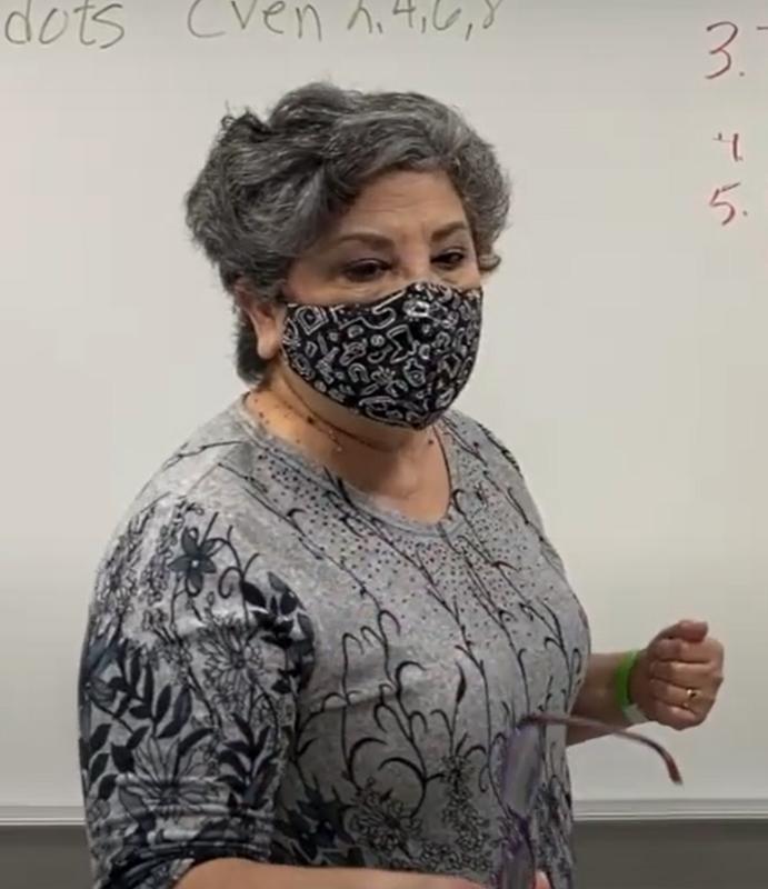 ecisd teacher in class room