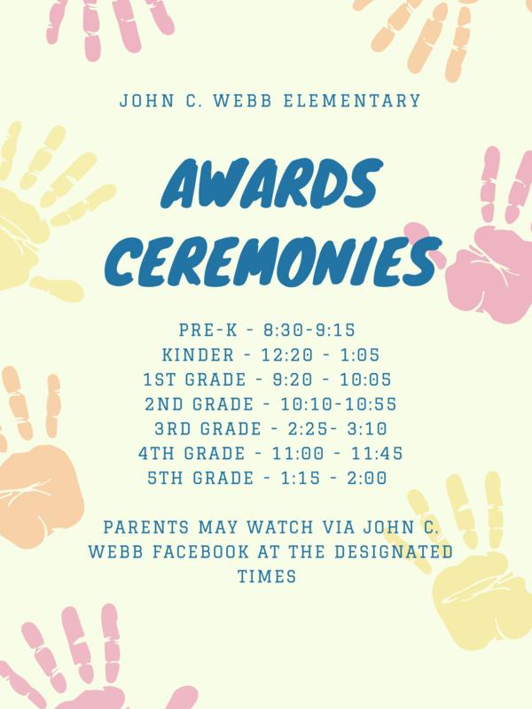 John C. Webb Awards Ceremonies (Friday, 5-21-21) Featured Photo