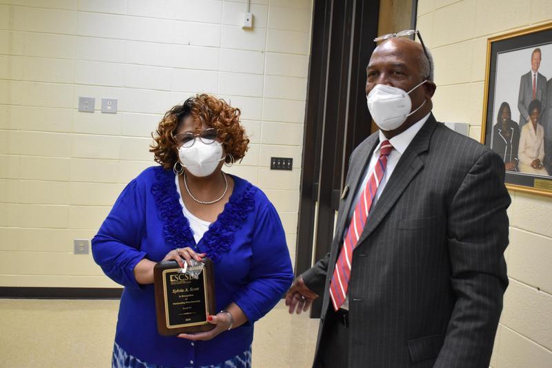 Congratulations Ms. Sylvia Scott! - Ms. Scott reached Level 6 in the SCSBA Boardmanship Institute