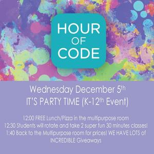 Hour of Code Flyer