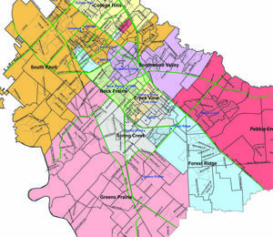 elementary school map