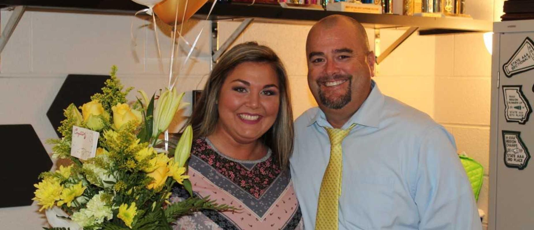 Kaylie Noe, Teacher of the Year