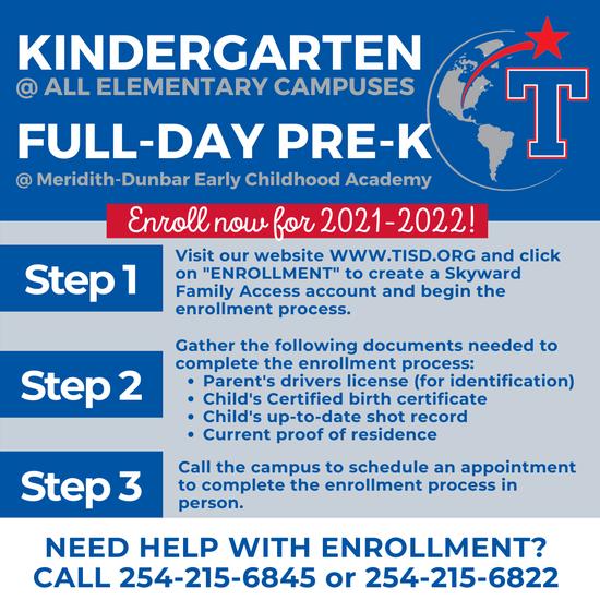 Kindergarten/ Pre-K Registration Information Featured Photo