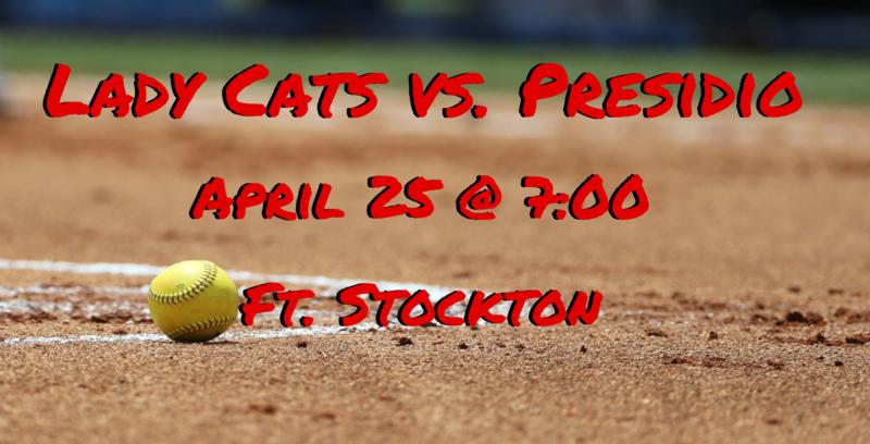 Lady Cats Playoff Softball