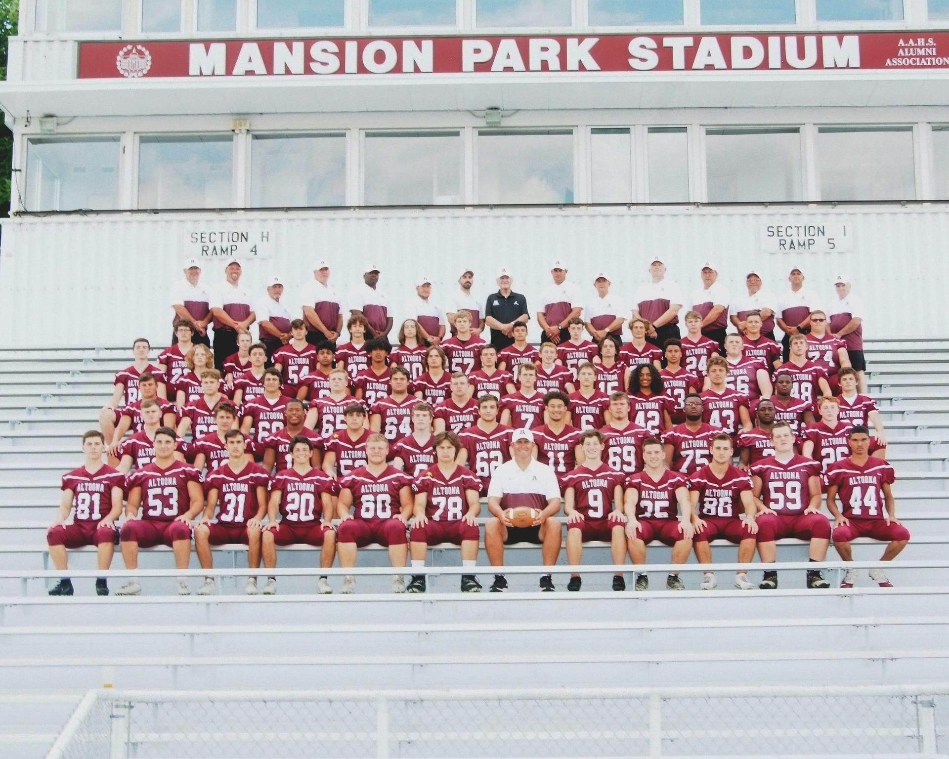 2019 Mt. Lions Football Team