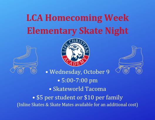 Elementary Skate Night Featured Photo