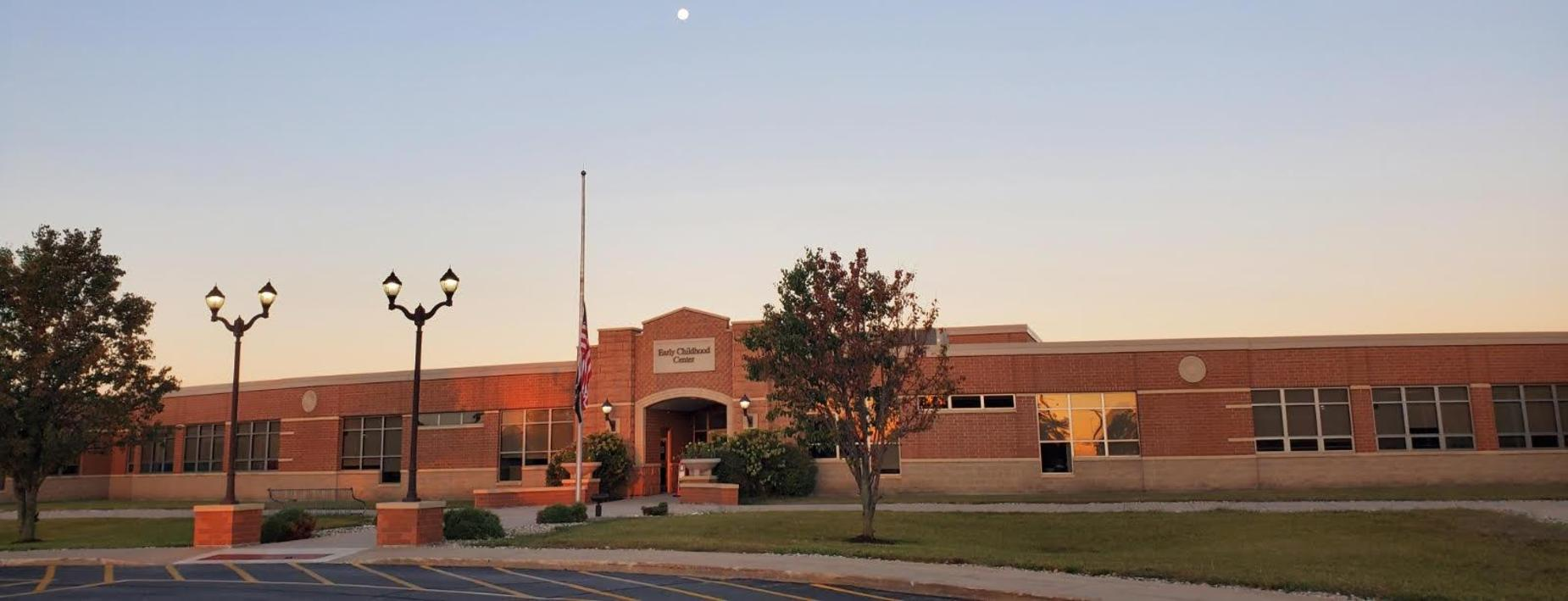 Front of the school -CCECC
