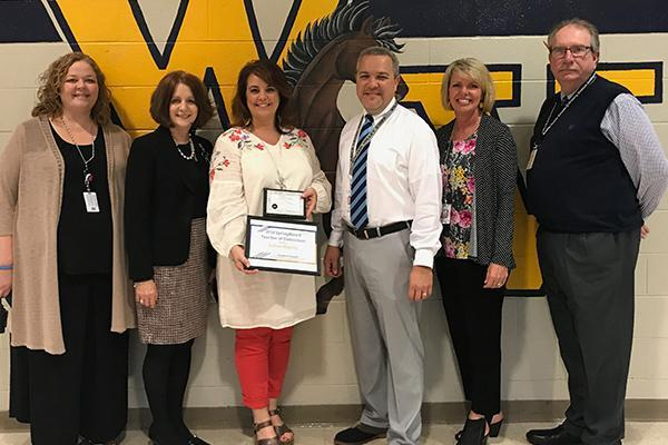 LeAnne Klepzig Springboard Teacher of Distinction