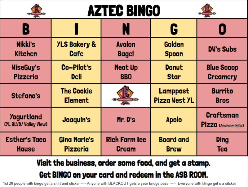 AZTEC Community Bingo (Dec 7th - 17th) Thumbnail Image