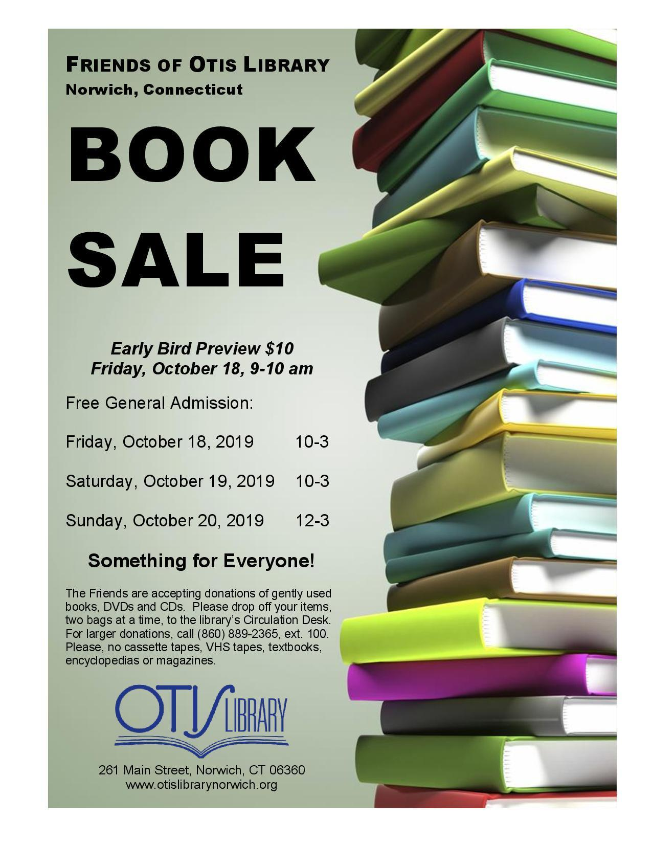 Otis Library Book Sale