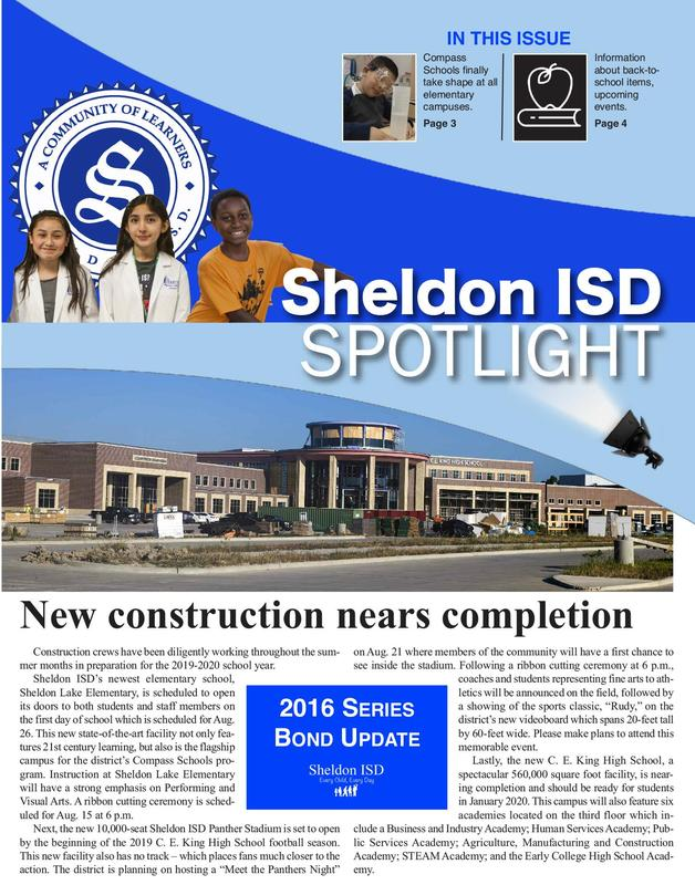 sheldon_isd_spotlight_newsletter_cover_english_080619
