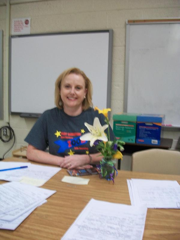 Lynn Carrick, Teacher of the Year.