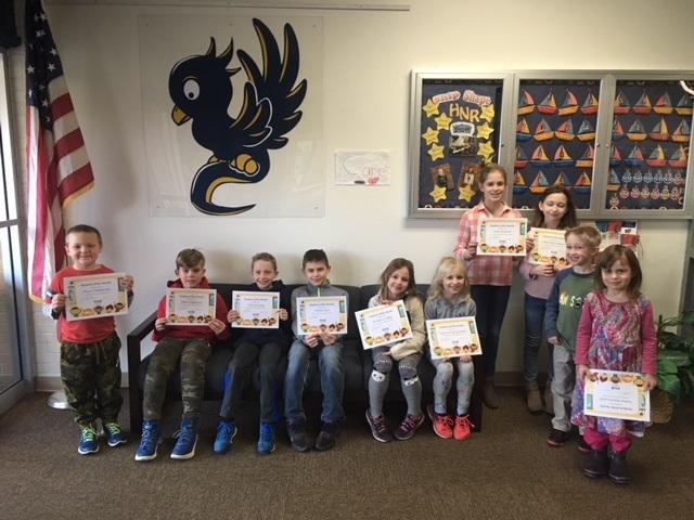 CONGRATS to our DECEMBER Students of the Month! Featured Photo