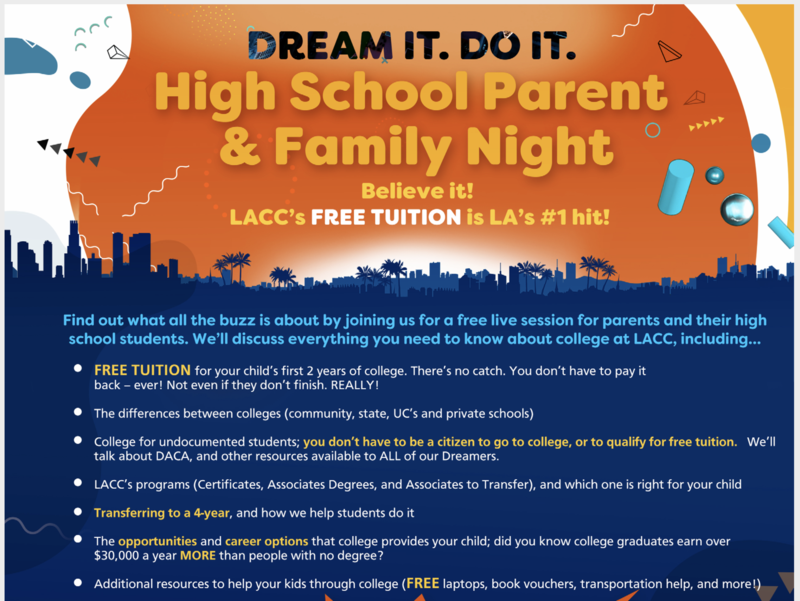 LACC Family Night Featured Photo
