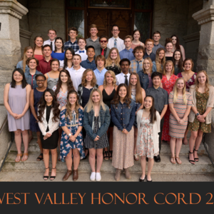 Honor Cord students
