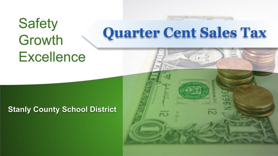 Quarter-Cent Sales Tax Update