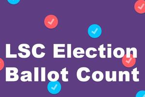 LSC Election Ballot Count
