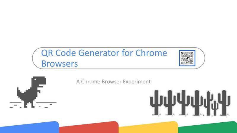 QR Code Generator for Chrome Browsers