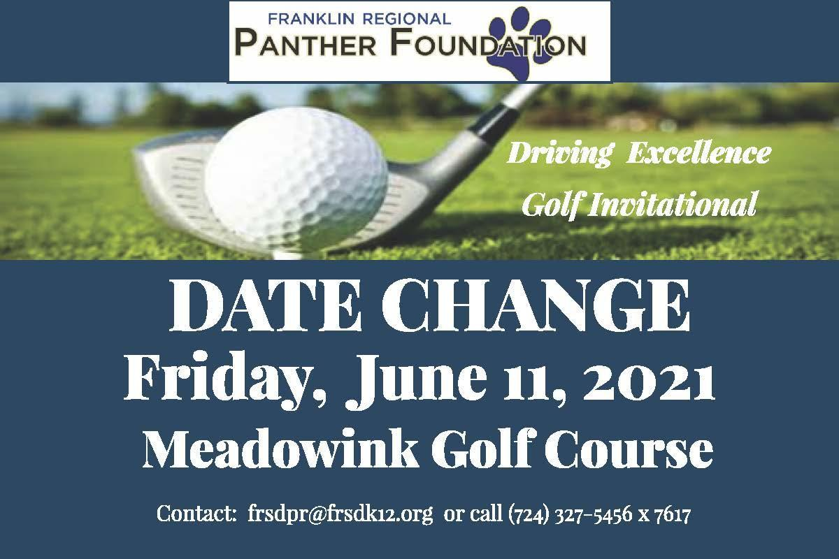 Golf Invitational Date Changed to June 11, 2021