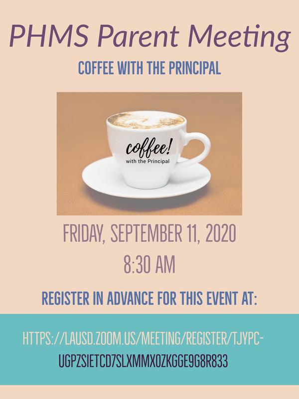 Zoom Recording of our Coffee with the Principal on Friday, September 11 at 8:30 am Featured Photo