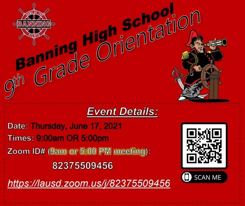 9th Grade Orientation Information that was presented on Thursday, June 17, 2021 Featured Photo