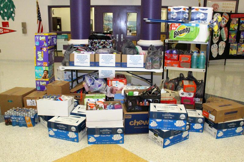 Lexington Three Collects Donations For Marlboro County School District Residents
