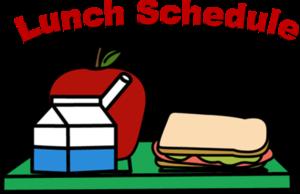 Lunch Schedule