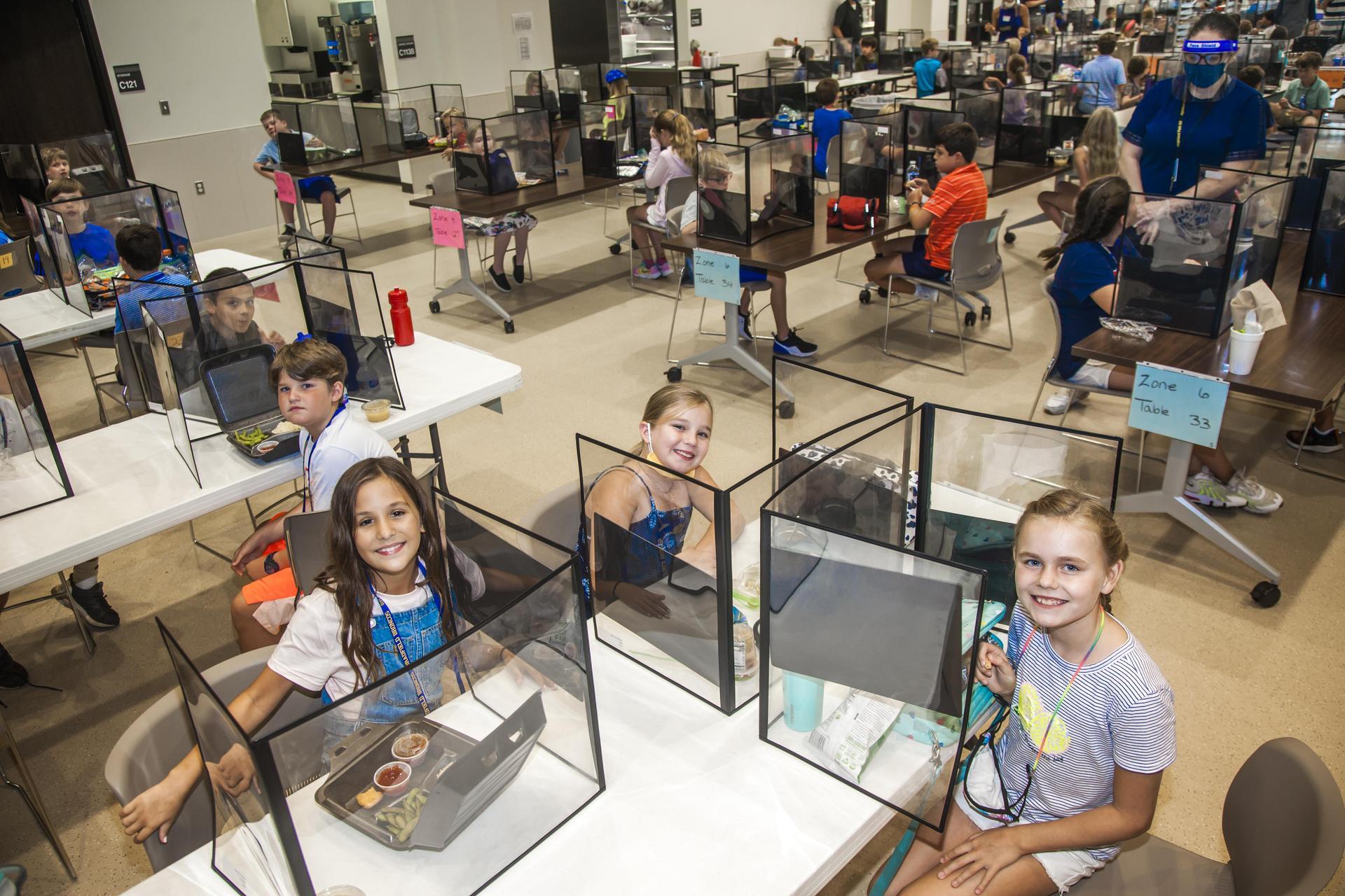Bradfield Elementary Cafeteria