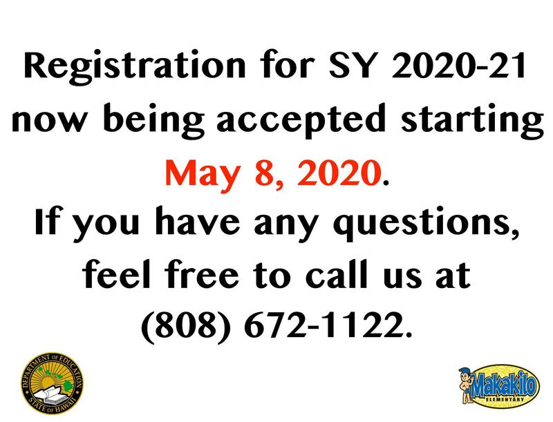 Registration for SY2020-21 starts May 8, 2020 Featured Photo