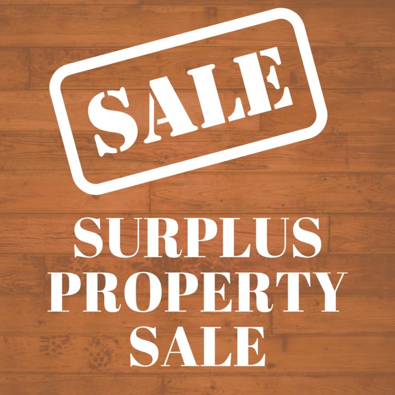 SURPLUS PROPERTY SALE Featured Photo