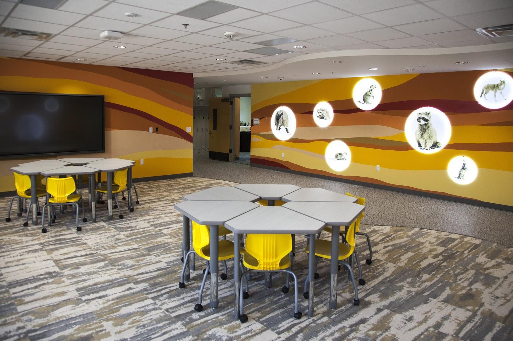 Armstrong flexible learning space