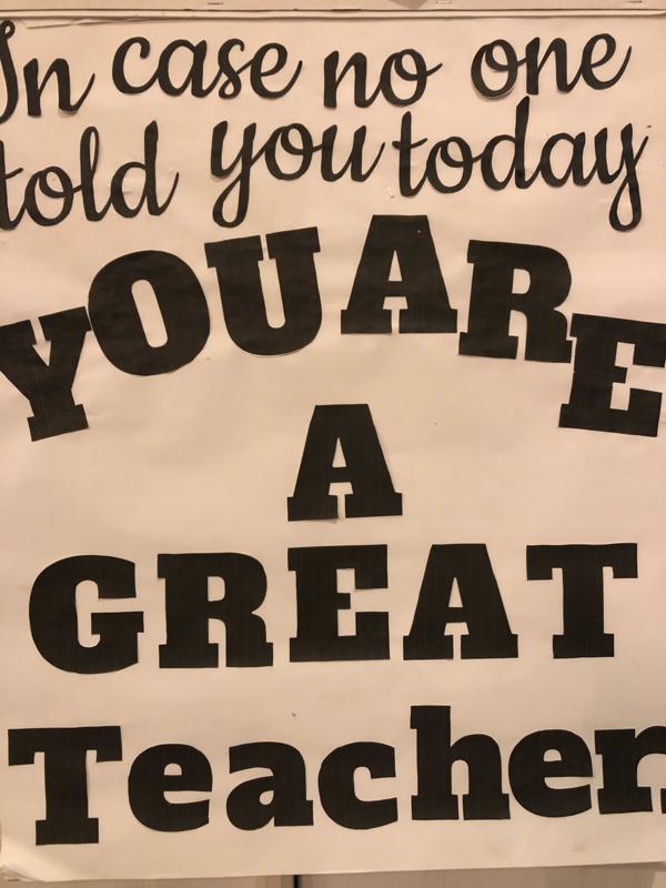 Sign of Encouragement