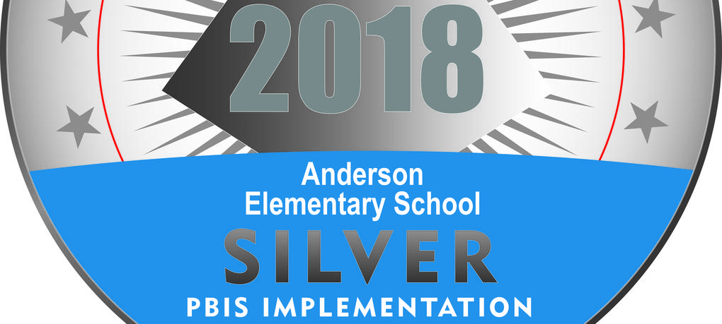 The slide shows the PBIS silver award.