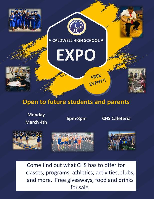CHS Expo March 4 Thumbnail Image