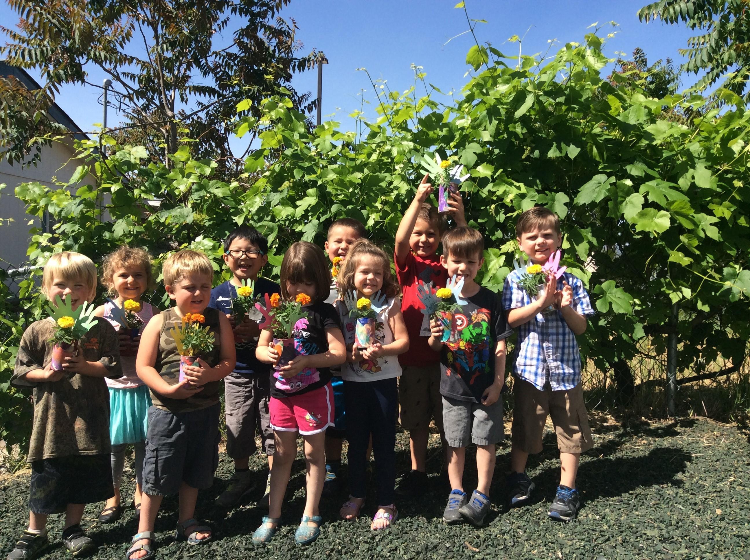 Preschool Planters