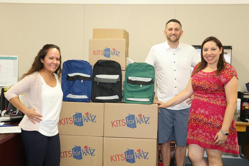 Los Altos & Monte Vista Receive Donations of New Backpacks and School Supplies Featured Photo