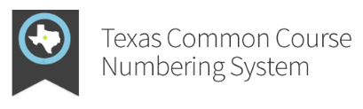 logo for texas common course numbering system