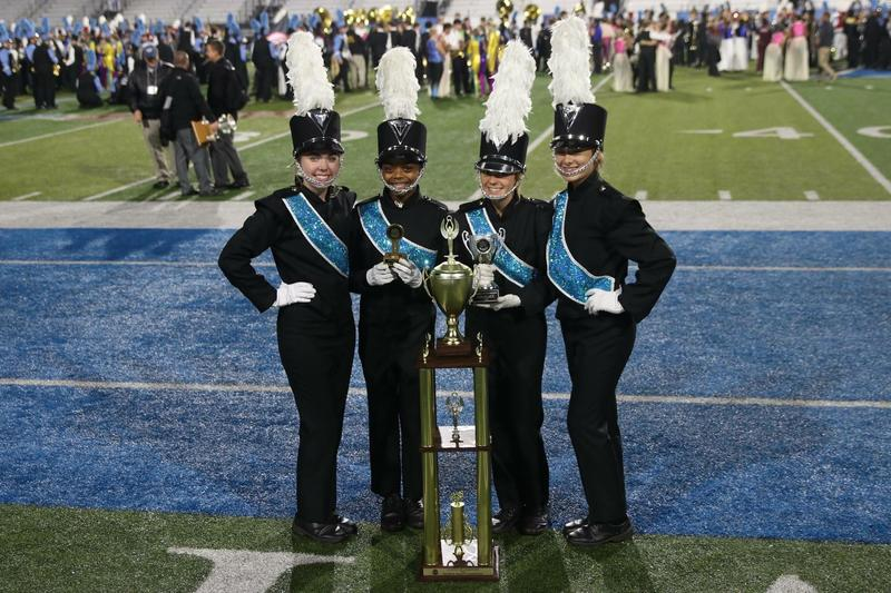 Siegel High band marches to Grand Nationals later this week Thumbnail Image