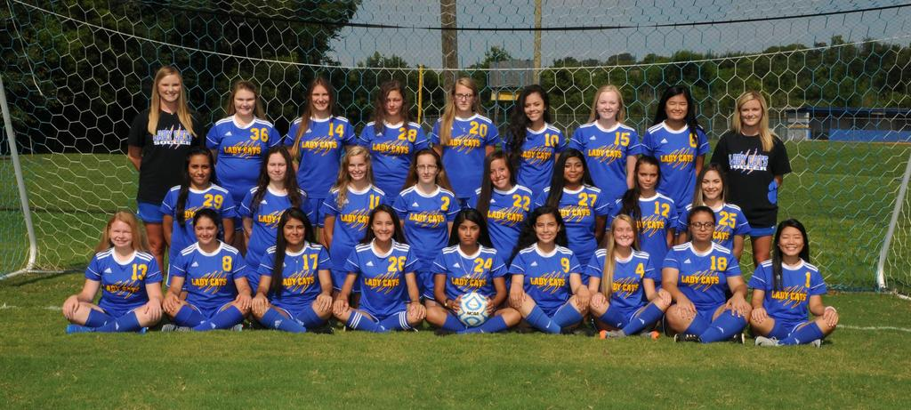 Girls Soccer of 2017-2018