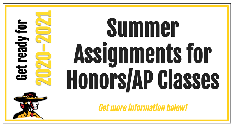 Summer Assignment info