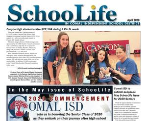 SchooLife April Issue Front Page